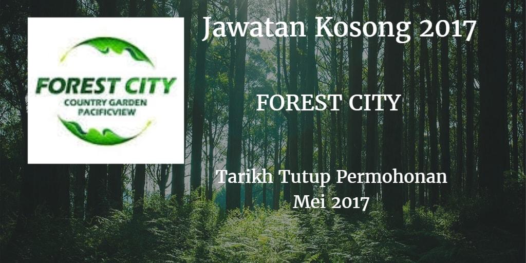 Jawatan Kosong FOREST CITY Mei 2017