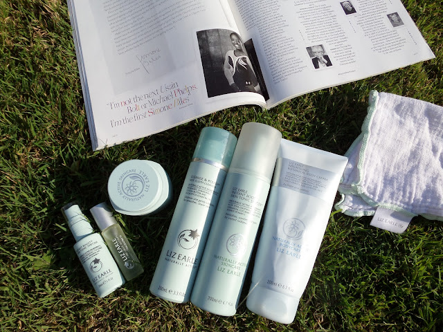 my liz earle collection, liz earle, summer skincare routine