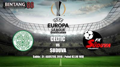 Prediksi Celtic vs Suduva 31 Agustus 2018