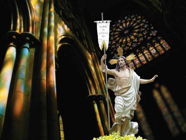 Ressurreição, composição artística.
