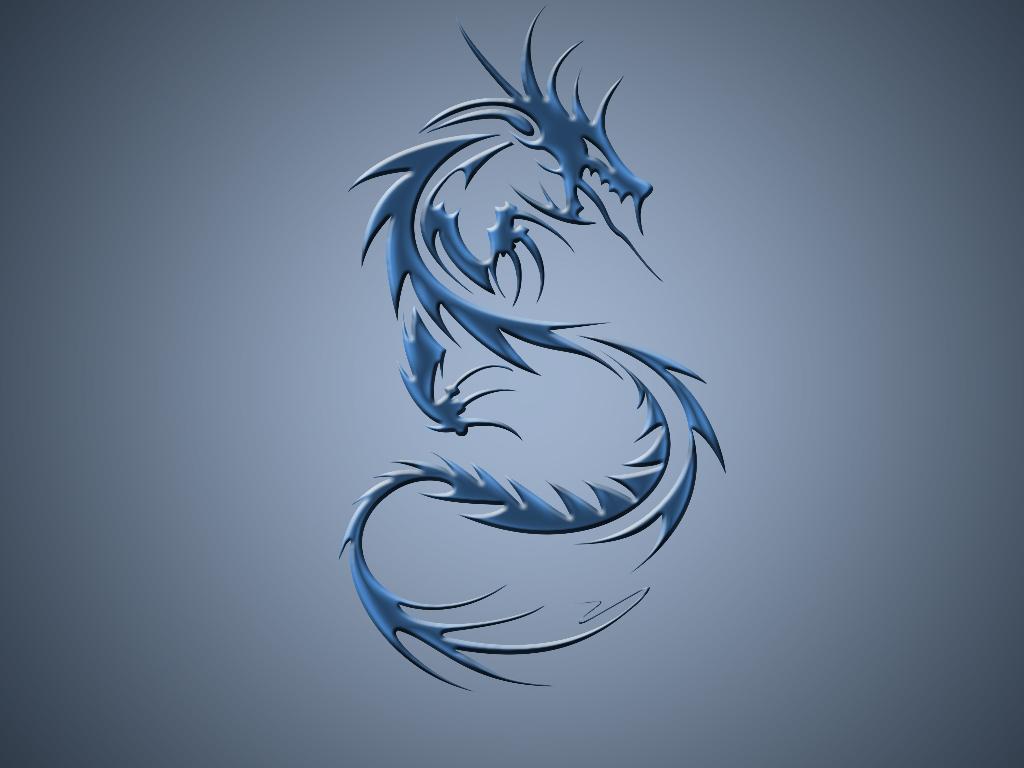 tribal dragon wallpaper by - photo #11