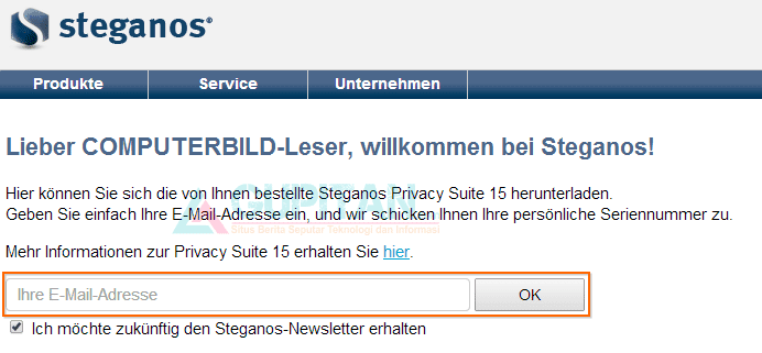 Steganos Privacy Suite 15 Legal License Gratis