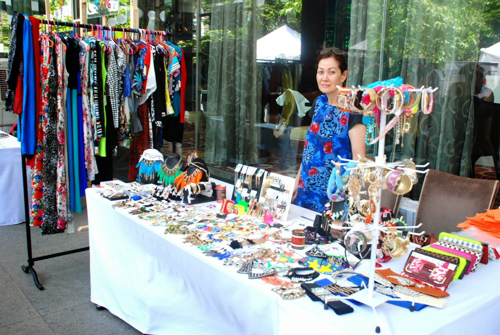 Feisty Fox Accessories & Clothing at Couture & Canvas Brunch at Sofitel,BKC