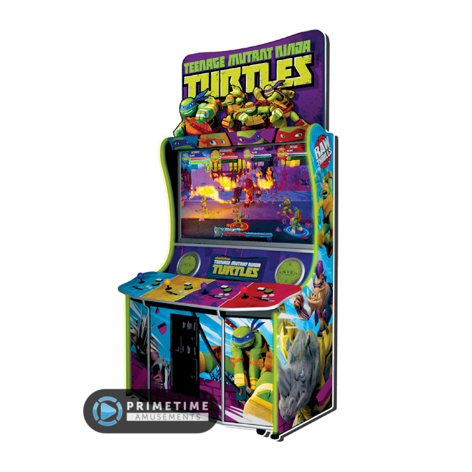 Fabulous teenage mutant ninja turtles arcade game and cabinet raw thrills nick nickelodeon tmnt
