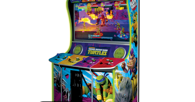 Awesome First Footage Of New uTeenage Mutant Ninja Turtles u Arcade Game Emerges