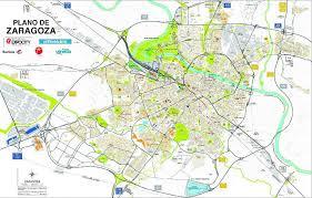 Mapa De Zaragoza Ciudad.Geografia Ana Irene Minguez Comentario Plano Urbano De Zaragoza