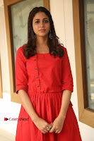 Actress Lavanya Tripathi Latest Pos in Red Dress at Radha Movie Success Meet .COM 0273.JPG