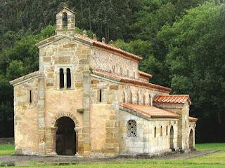 Iglesia de san Salvador de Valdediós; Conventín; Valdediós; Prerrománico; Prerrománico asturiano; Asturias