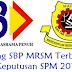 Ranking SBP MRSM Terbaik 2016 Keputusan SPM 2015