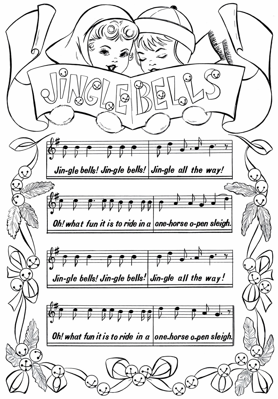 The Storytelling Sub...StoryTeacher: Jingle Bells...lyrics