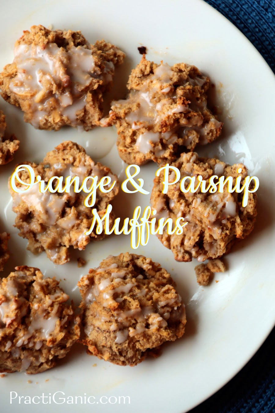 Orange and Parsnip Muffins