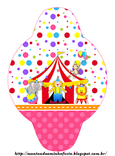 Circus for Girls: Free Party Printables.