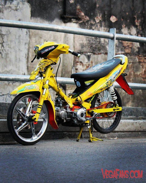 Jupiter Z Kuning Modif Simple