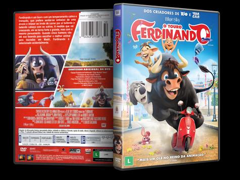 Capa DVD O Touro Ferdinando