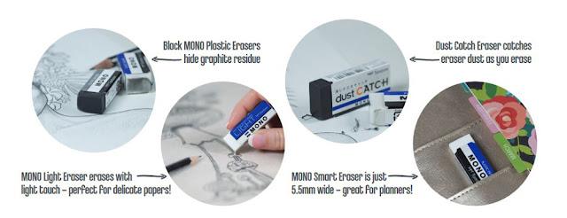 Tombow MONO erasers