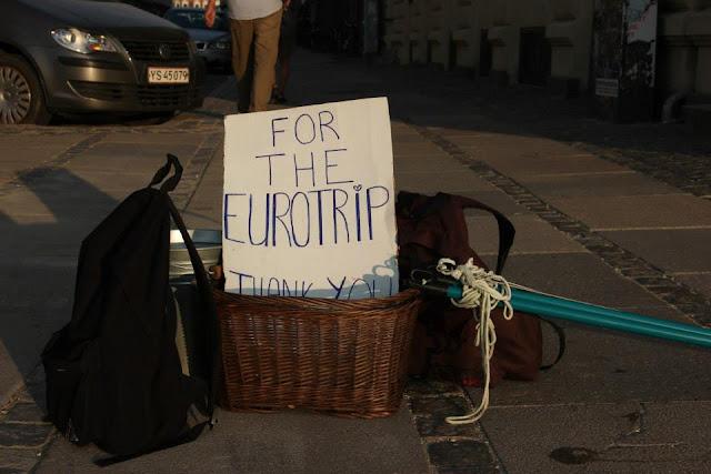 eurotrip pieniądze