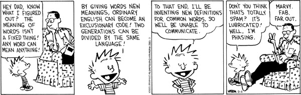 calvin and hobbes themes