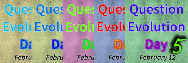 Question Evolution Day is an important way for creationists to present information that Darwinists neglect, obscure, and misrepresent. Some evolutionists do not realize that there's another side to the story, having been saturated in propaganda.