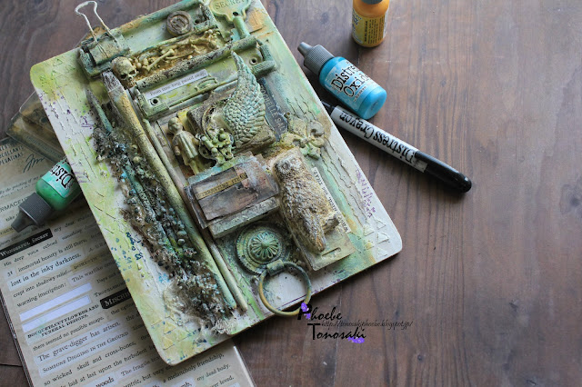 Mixed Media Ancient Clipboard by Phoebe Tonosaki