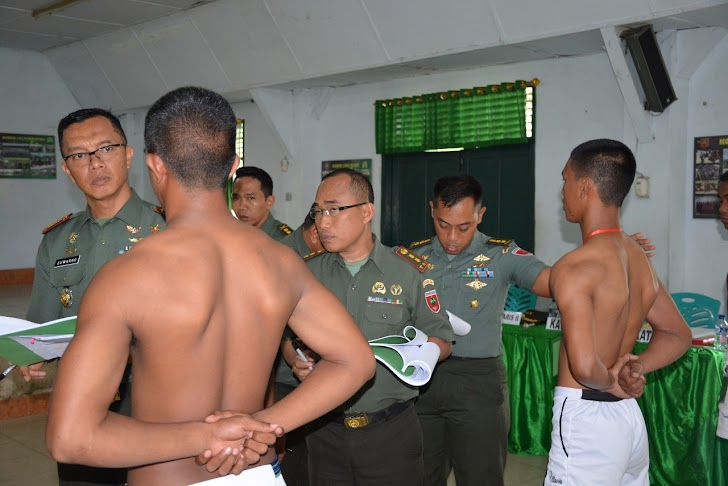 Danrem 141/Tp, Pimpin Sidang Parade Tamtama TK TNI AD 2018