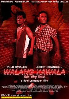 Walang kawala is a gay-themed movie directed by Joel Lamangan. Starring Polo Ravales, Joseph Bitangcol, Emilio Garcia, and Jean Garcia.