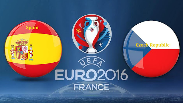 LIVE SCORE EURO 2016 : Prediksi Hasil Spanyol VS Ceko Skor Akhir, Jadwal Bola Live Streaming Piala Eropa RCTI 13 juni