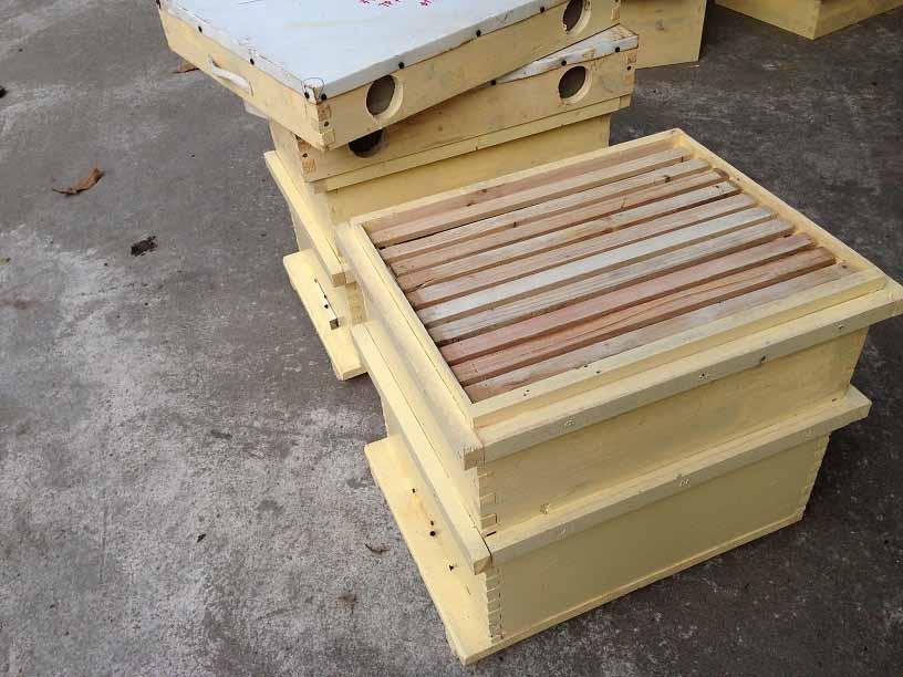 Thùng nuôi ong mật tiêu chuẩn, vật tư nuôi ong | Mật Ong Hưng Yên