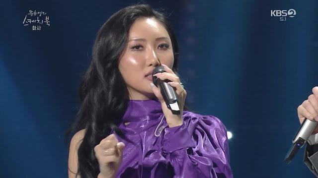 Hwasa MAMAMOO Akui Lagu 'Twit' Terinspirasi Dari Cerita Cinta Dirinya