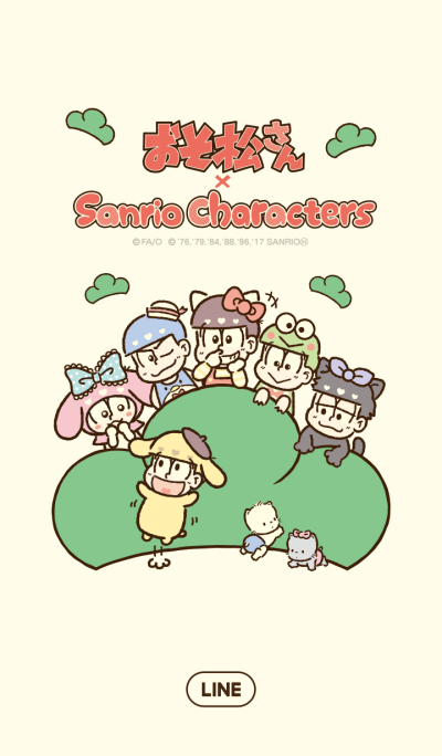 오소마츠상 × SANRIO CHARACTERS