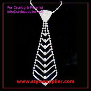 necktie crystal