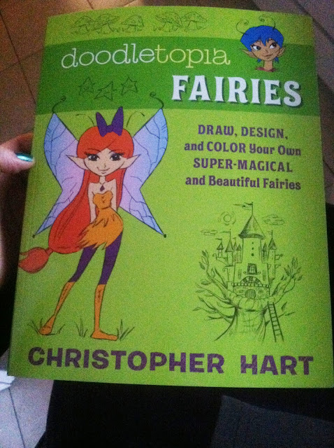 Book Review: Doodletopia Fairies By Christopher Hart