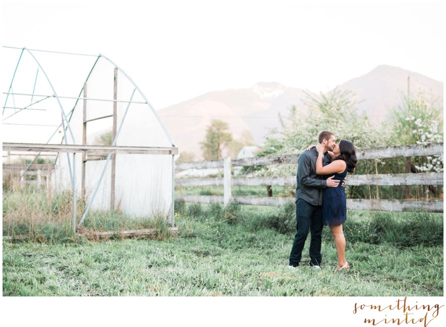Orchard Engagement Session by Seattle Wedding Photographer Something Minted Photography