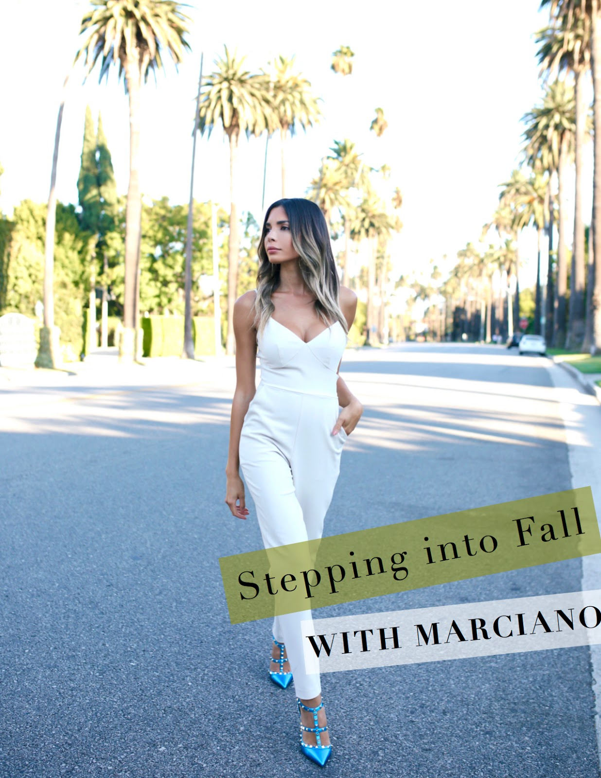 Stepping Into: Jasmine Tosh Lately : Stepping Into Fall With Marciano