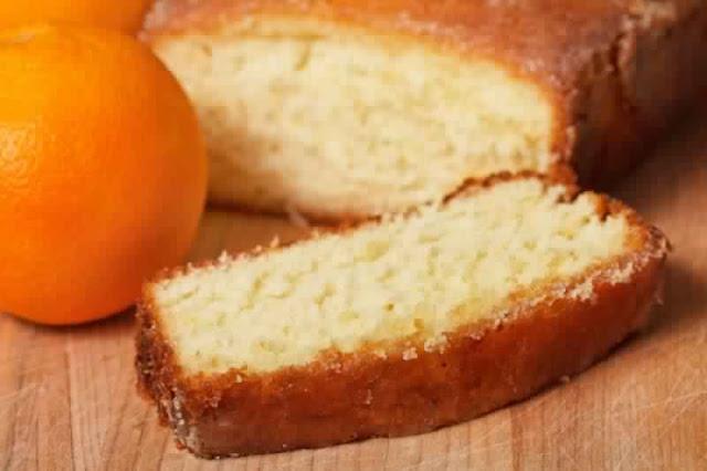 كيك بعصير البرتقال