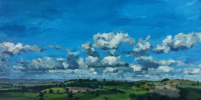 Greg Mason Landscape Paintings in devon