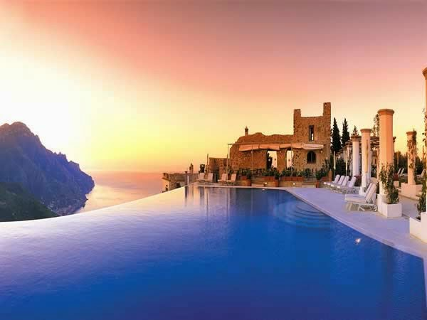 5. Hotel Caruso, Ravello, Italy - Top 10 Marvelous Pools in the World