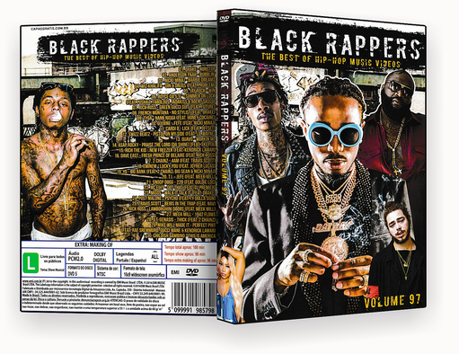 CAPA DVD – Black Rappers Vol.97 – ISO