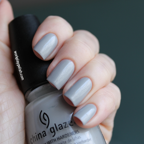 China Glaze Pelican Gray