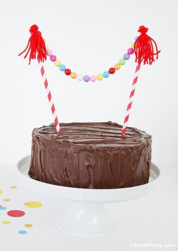 3 Easy DIY Cake Bunting Ideas to Make - BirdsParty.com