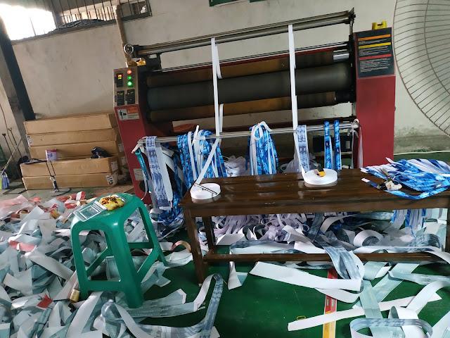Pusat pembuatan tali ID card printing Satuan di Jakarta