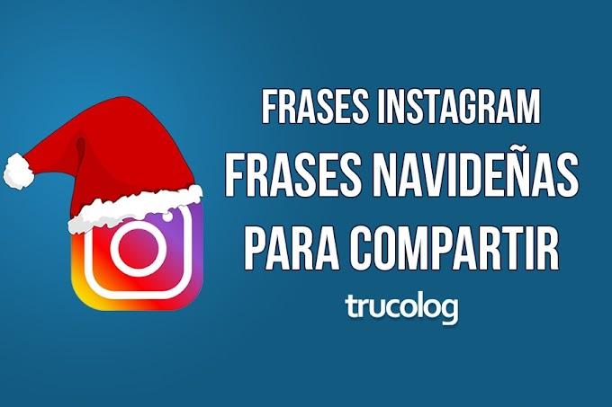 Imágenes con frases navideñas para Instagram