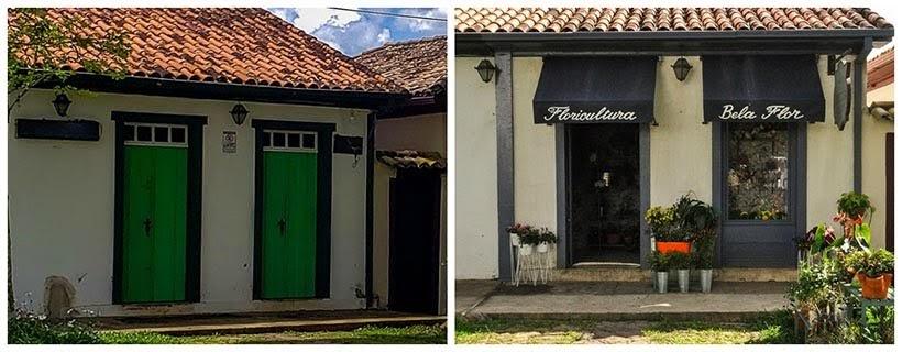 Pizzaria de Catas Altas e Floricultura de São Miguel: minissérie Se Eu Fechar os Olhos Agora. Foto do cenário: Marilane Batista/Ascom
