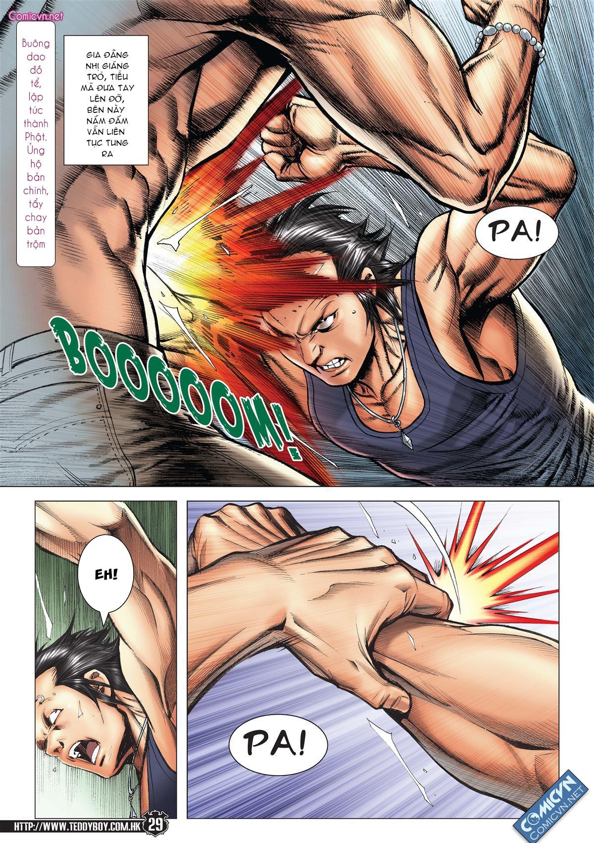 Người Trong Giang Hồ chapter 2148: tiểu mã vs gia đằng nhị trang 25