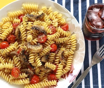vegetarian pasta with toasted fennel seeds recipe