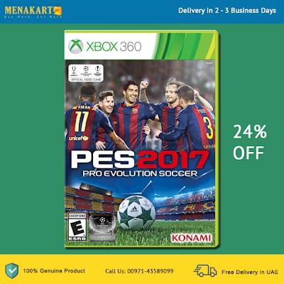 Pro Evolution Soccer (PES) 2017 - Xbox 360
