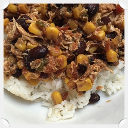Southwest Chicken & Beans with Rice