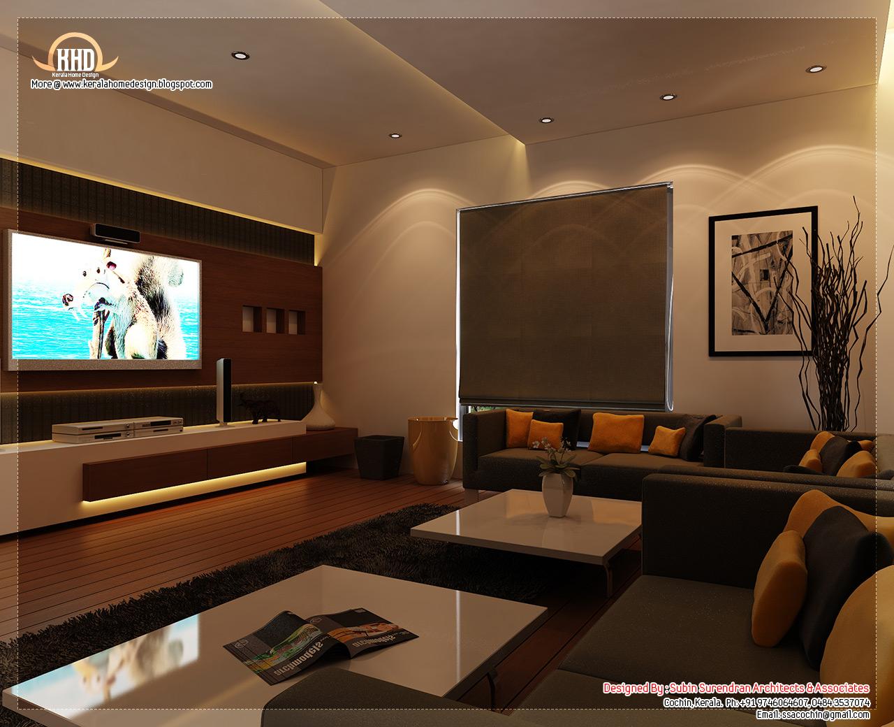 Beautiful home interior designs - Kerala home design and ...