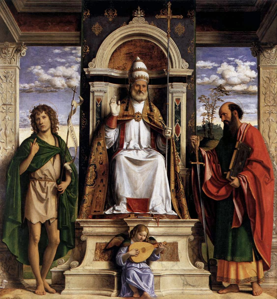 Clerical Whispers: Pope: On the feast day of Saints Peter