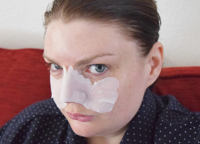 Benefit Cosmetics' The POREfessional Instant Wipeout Masks On Face