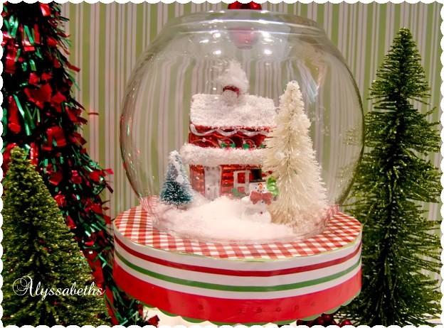 Alyssabeths Vintage Christmas Cloche